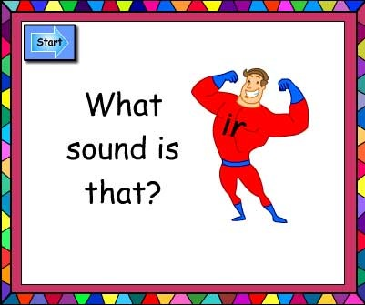What Sound Is That? ir and ur