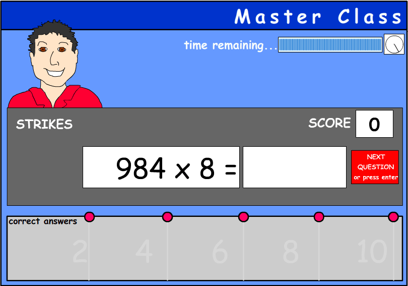 Short multiplication - three digits by one digit