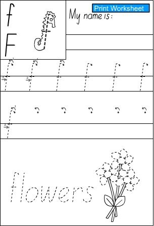 Number Names Worksheets s handwriting sheet : Letter s -Handwriting Sheet, English skills online, interactive ...