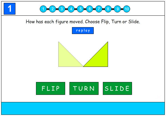 Flip, Slide or Turn