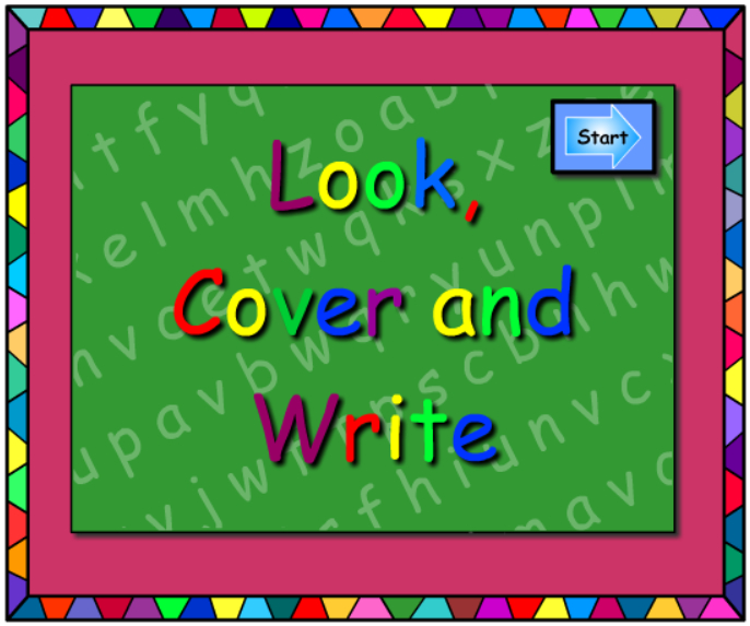 oi and oy -Look  Cover Write