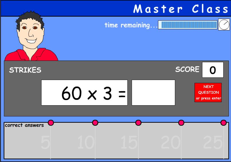 Short multiplication of multiples of 10