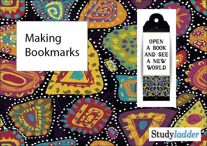making bookmarks theme based learning skills online interactive