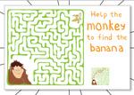 Help the Monkey Maze