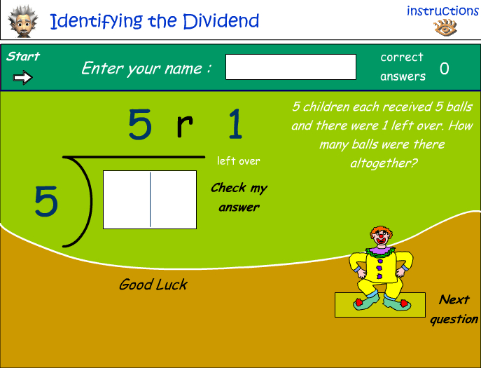 Identifying the dividend