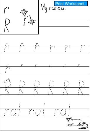 how to connect cursive r