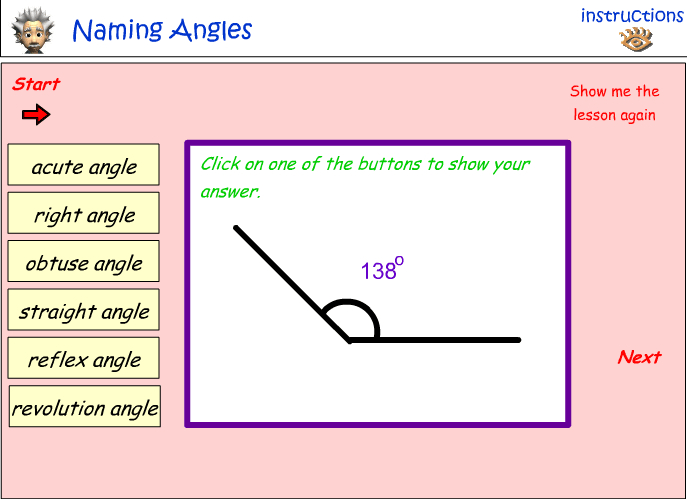 Naming angles