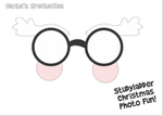 Santa's Glasses (1 page)