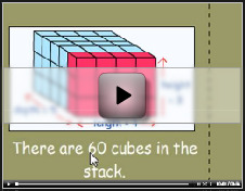 Calculating the volume of rectangular prisms tutorial