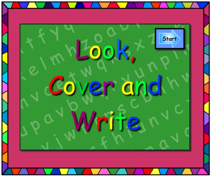 ite and ight -Look Cover Write
