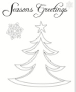 Christmas Tree Card (1 page)