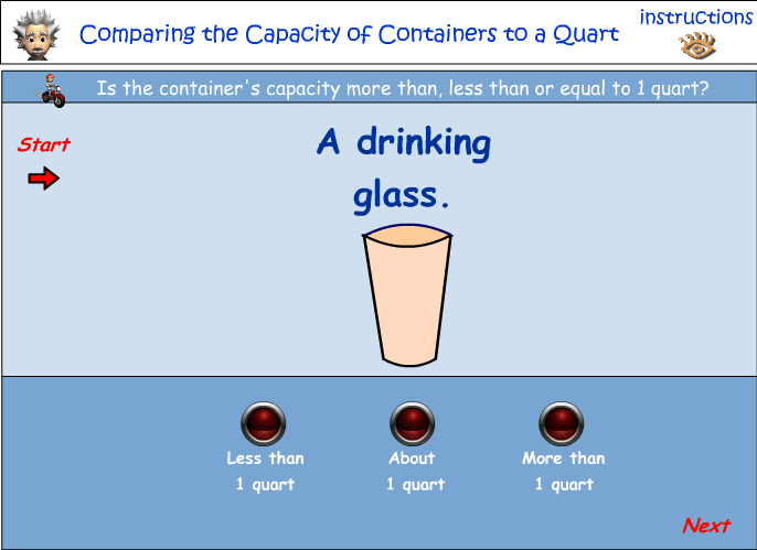 Volume and capacity - the quart