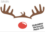 Photo booth Rudolph (1 page)