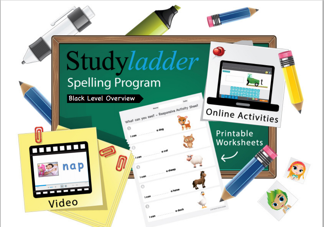 Worksheet Online Spelling Program black spelling program overview and recording sheet 15 page pdf english skills online interactive activity lessons