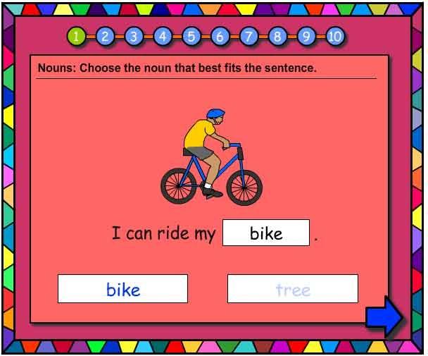 Nouns Vocabulary Builder