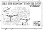 Help the Elephant Maze