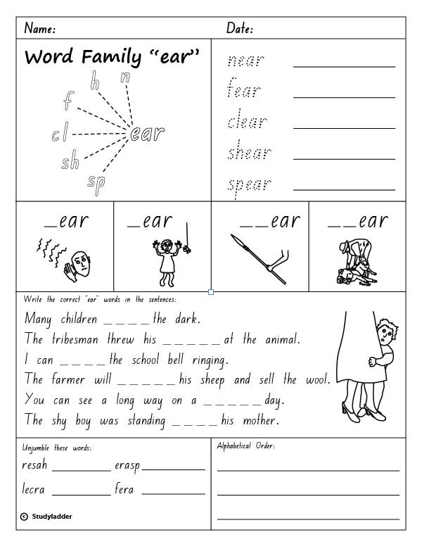 Diagram: Ear Diagram Worksheet